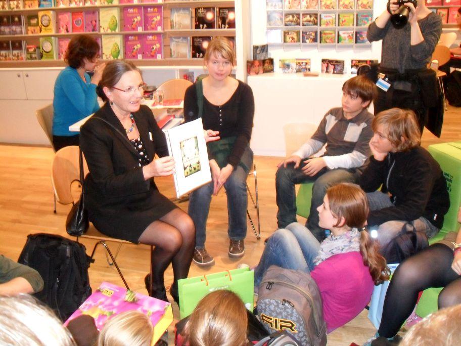 Gespräch bei cbj / cbt (c) Sabine Hoß