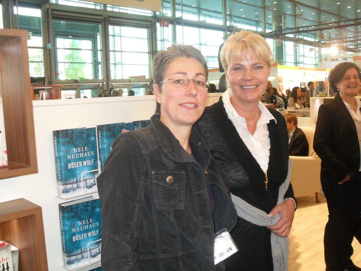 Nele Neuhaus auf der Frankfurter Buchmesse (Foto (c) Sabine Hoß)