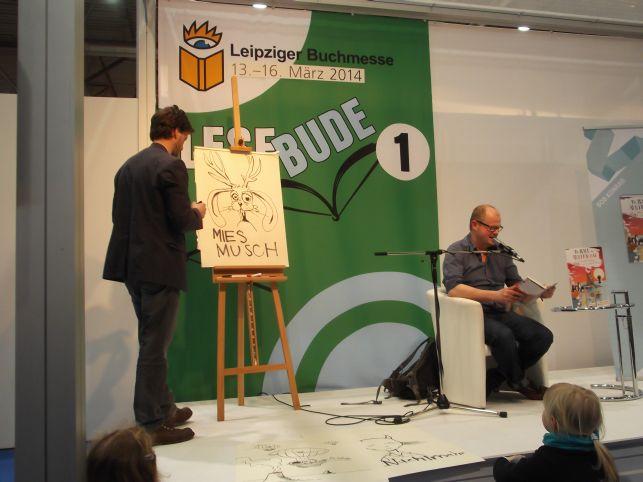 Konrad und Bob mit Miesmusch ;-) (Foto (c) Sabine Hoß)