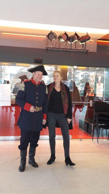 Cornelia Funke mit Käpt`n Book in der Bonner Oper